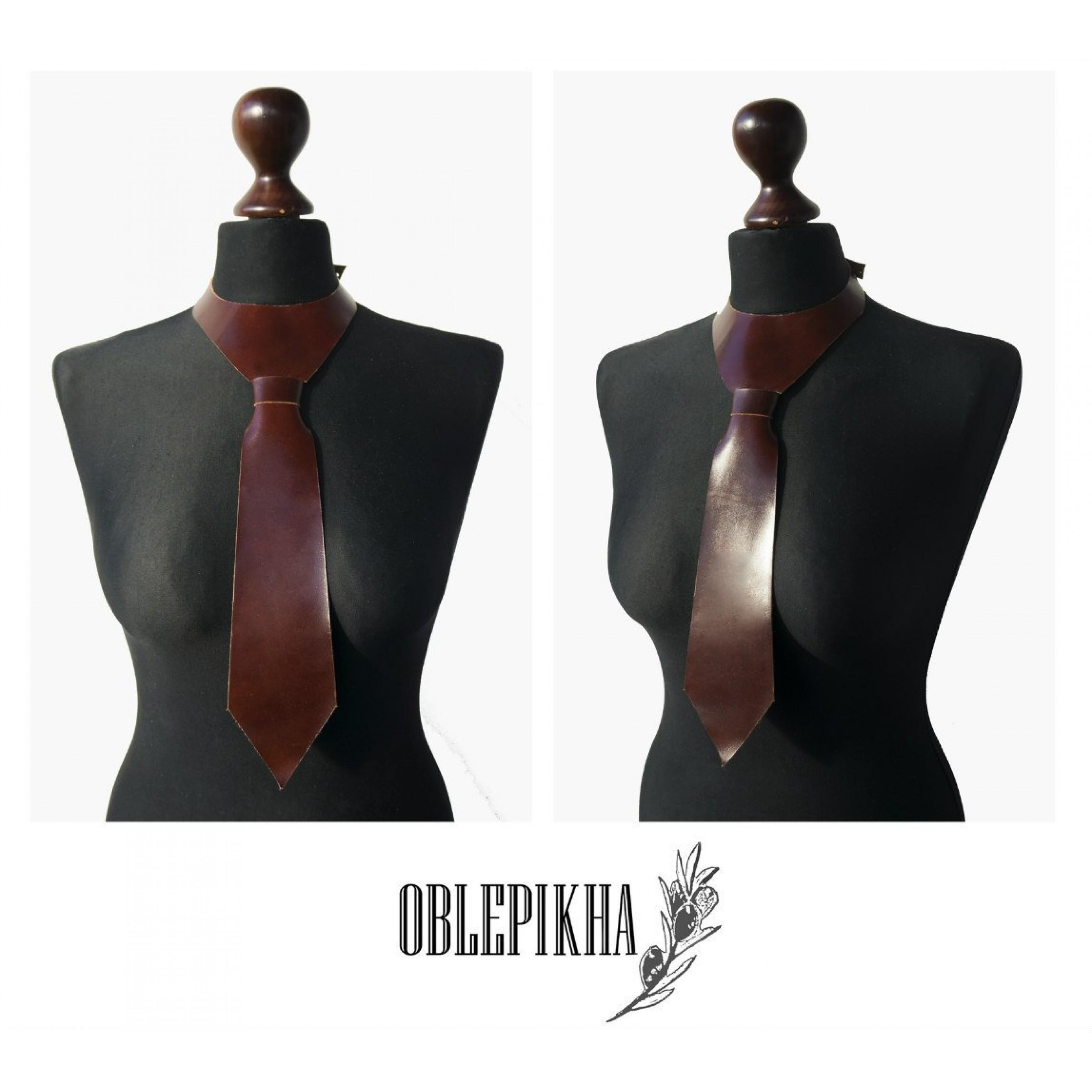 OBLEPIKHA Leather Tie