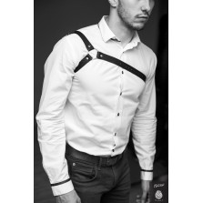 OBLEPIKHA Leather Suspender for man