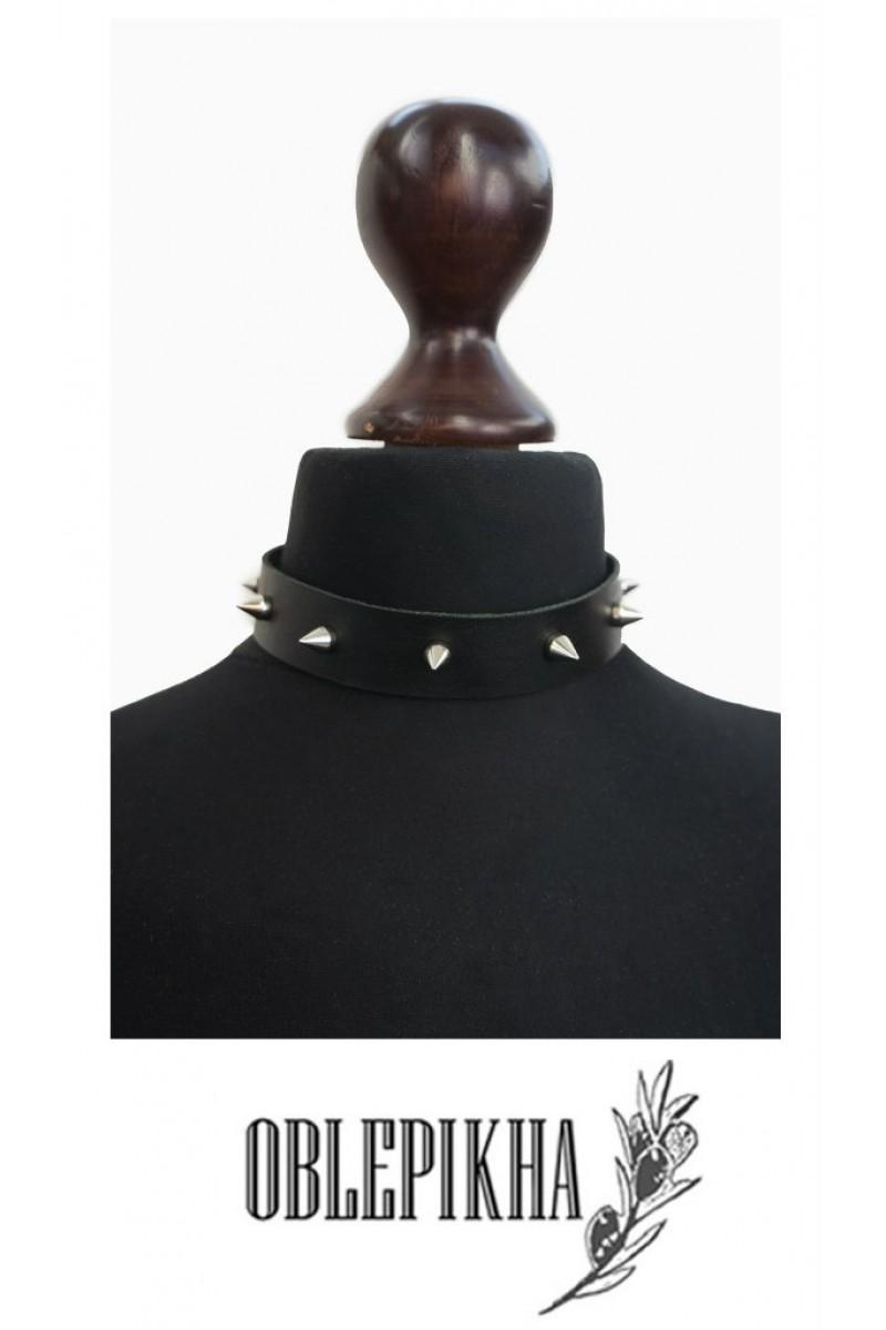 OBLEPIKHA Leather Collar