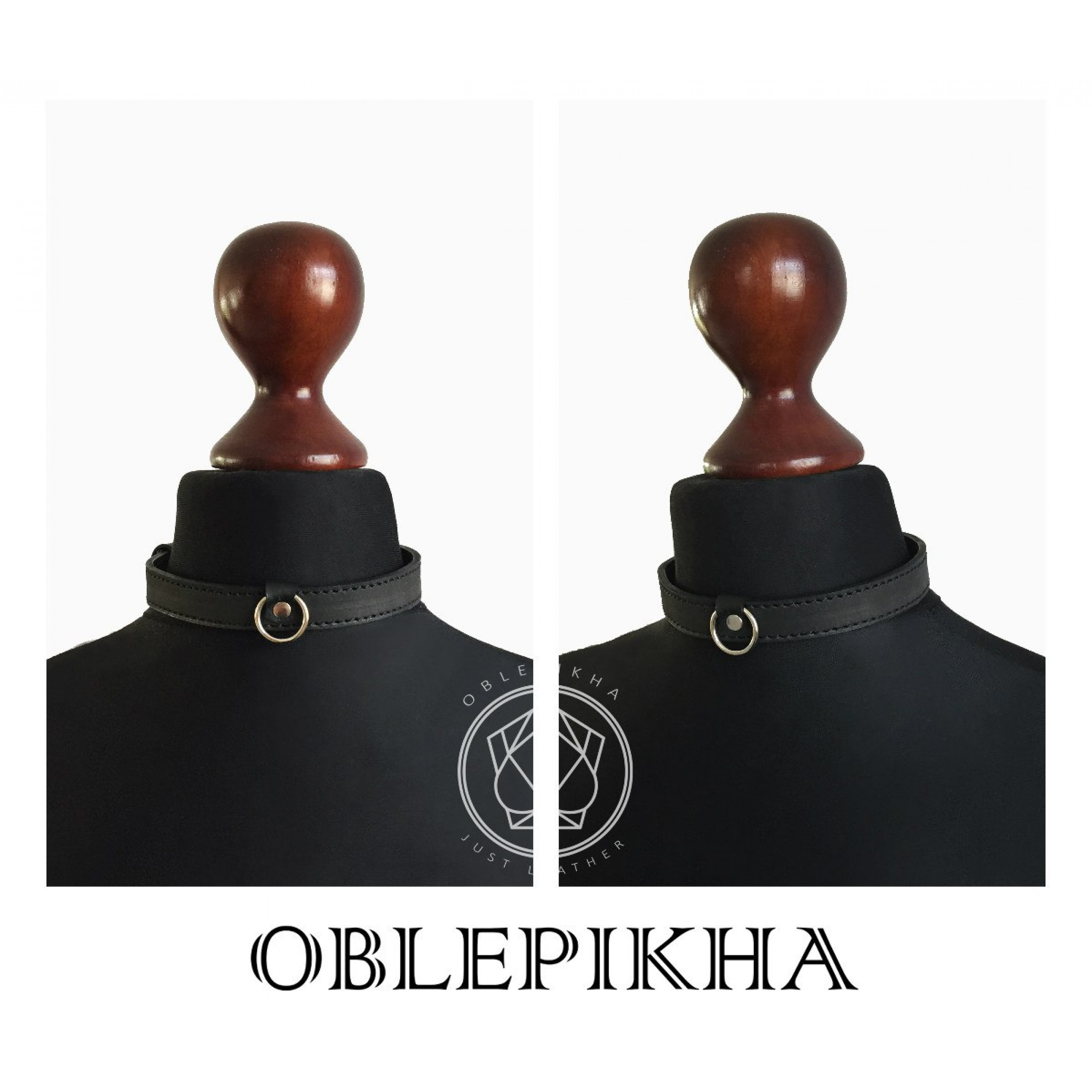 OBLEPIKHA Leather Collar