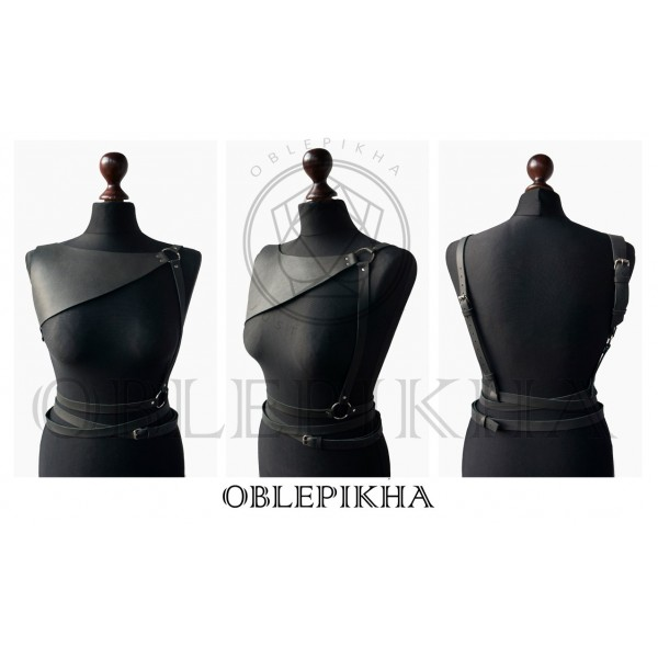 OBLEPIKHA Leather Shoulderplate