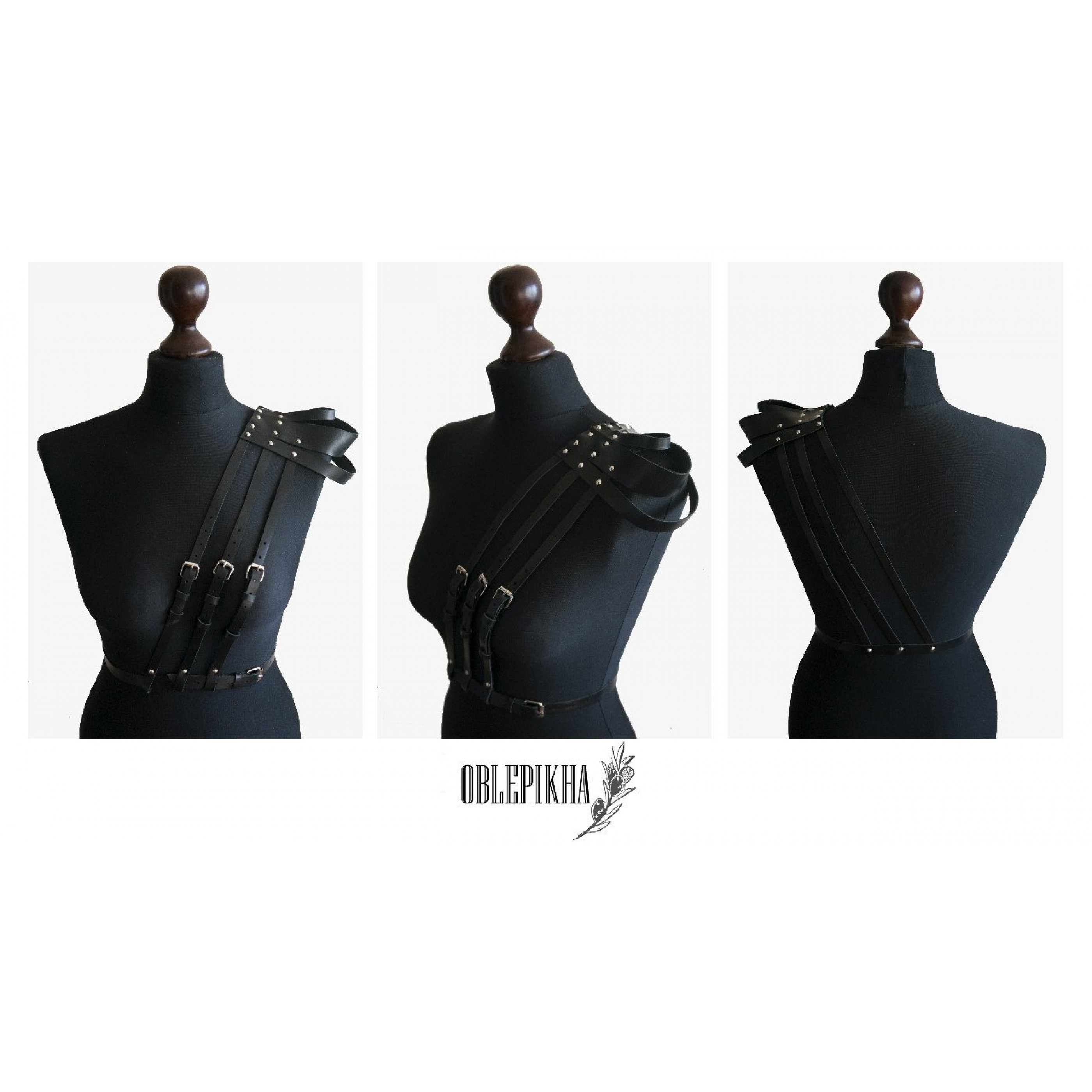 OBLEPIKHA Leather Shoulderplates