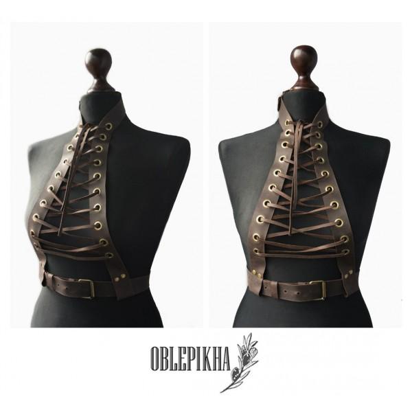 OBLEPIKHA Leather Harness
