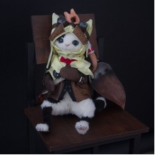 FENINDOM Monster Hunter World - Palico Toy