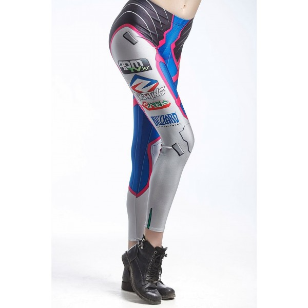 FENINDOM Overwatch D.Va leggings