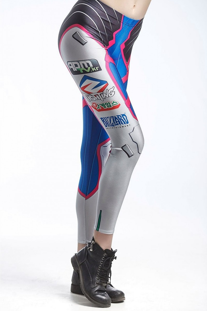 FD SHOP Overwatch D.Va leggings