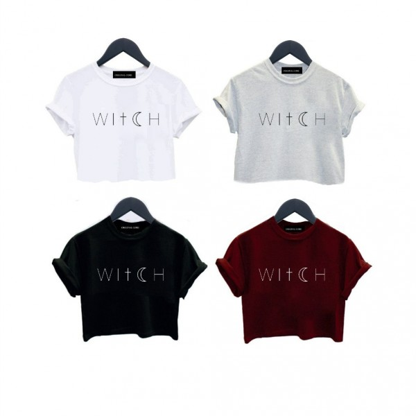 ORIGINAL CORE Witch Crop top