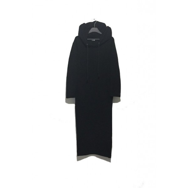 ORIGINAL CORE Black Long Hoodie