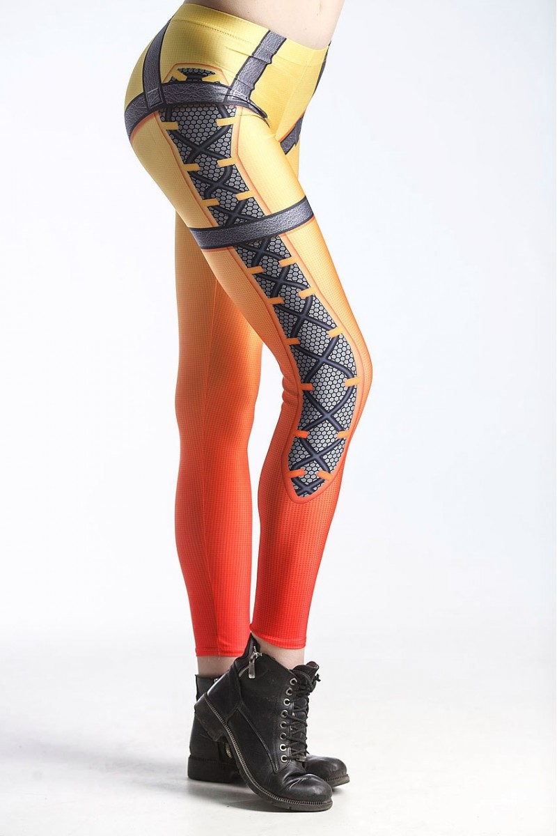 FD SHOP Overwatch Tracer leggings