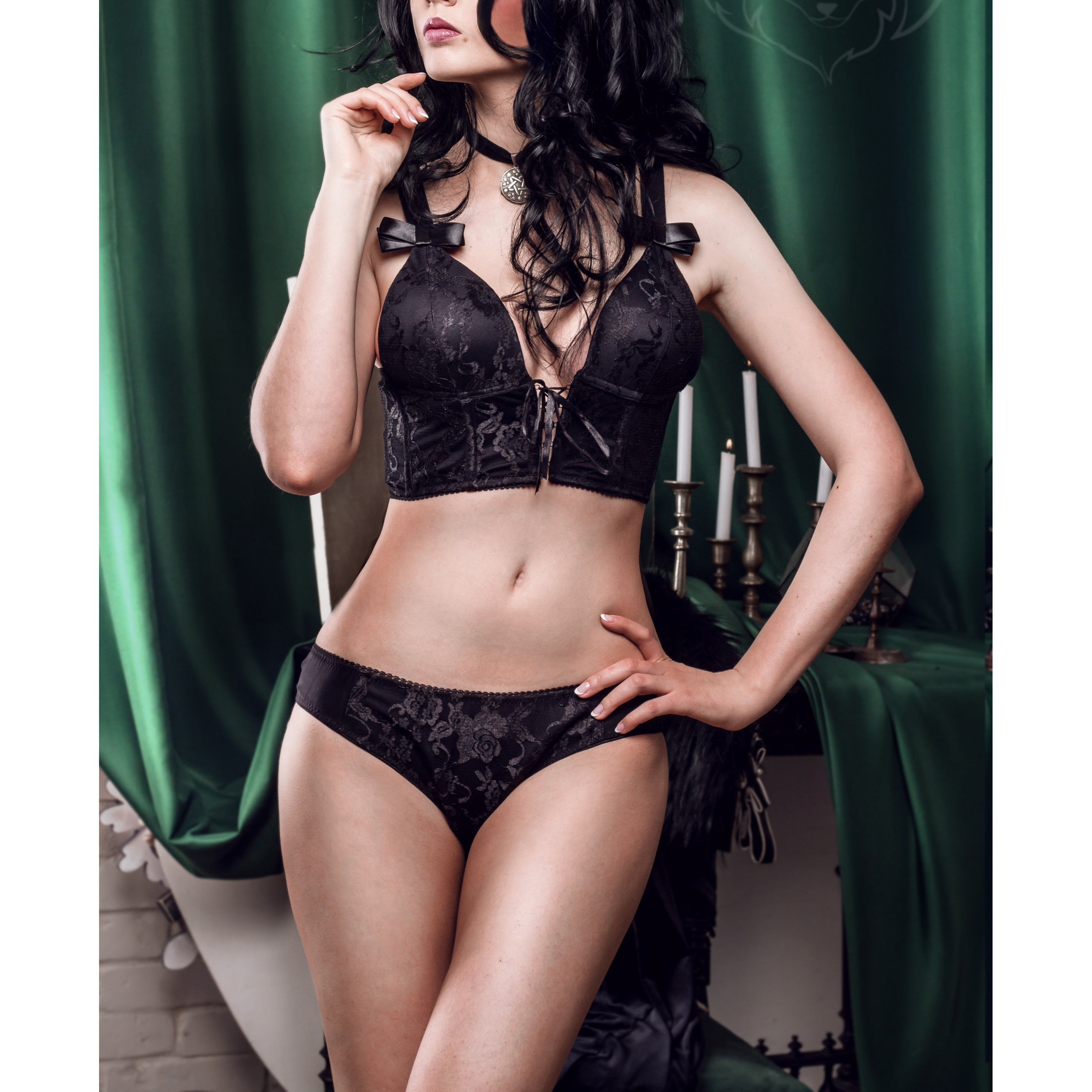 FENINDOM The Witcher 3: Wild Hunt Yennefer Of Vengerberg Lingerie