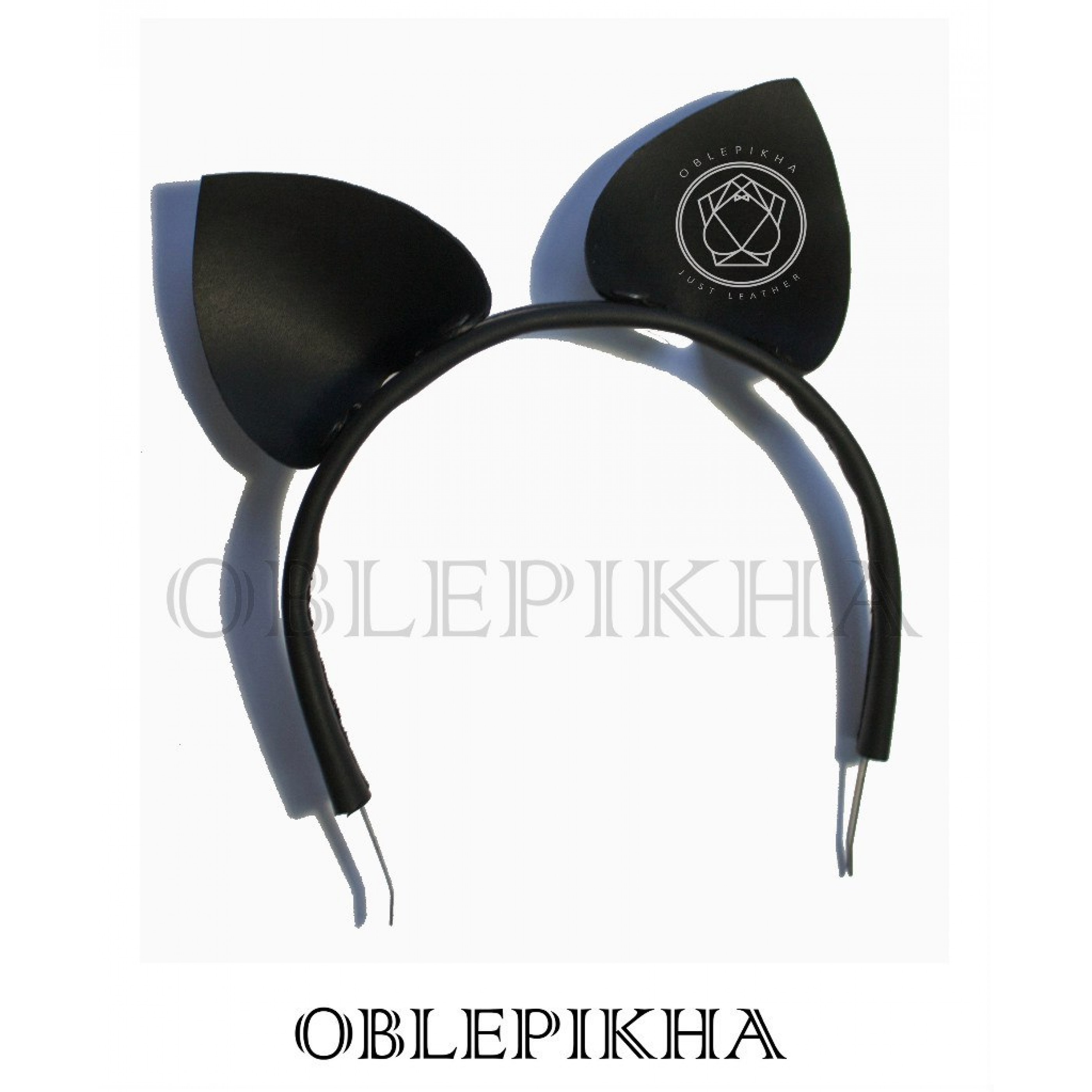 OBLEPIKHA Leather Cat Ears