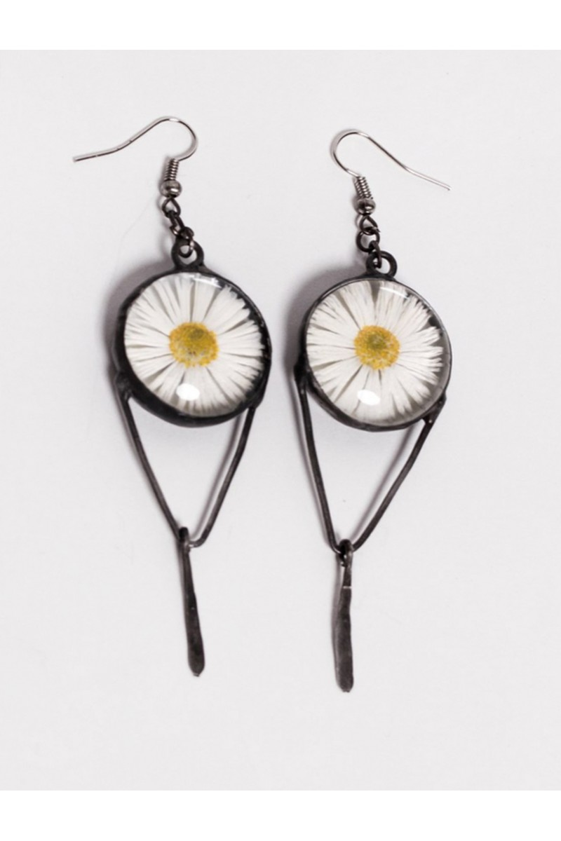 FOXY STUDIO Glass Earrings