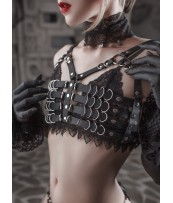 OBLEPIKHA Leather Harness  Succubus
